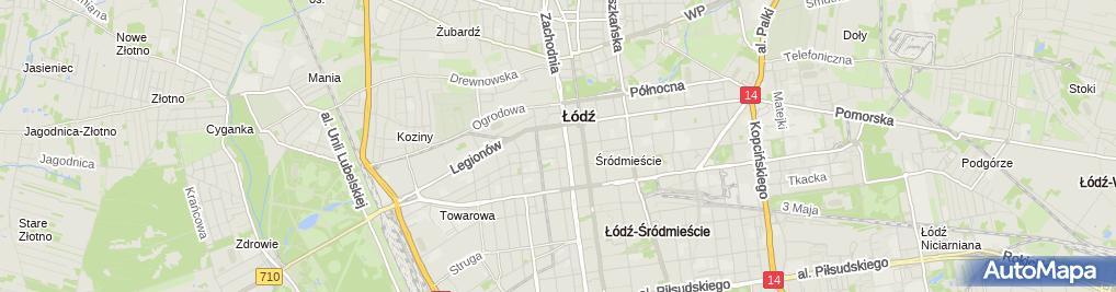 Zdjęcie satelitarne Agencja Ochrony Mienia Cobra Pełka Sławomir Norbert