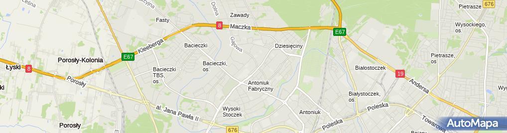 Zdjęcie satelitarne Agencja Ochrony Mirian Jan Mironowicz