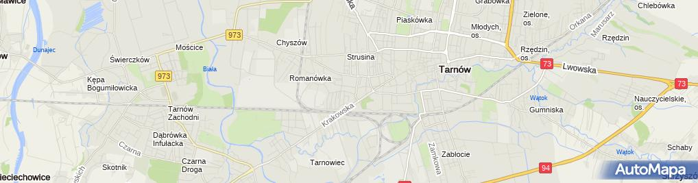 Zdjęcie satelitarne Agencja Reklamowa Modart