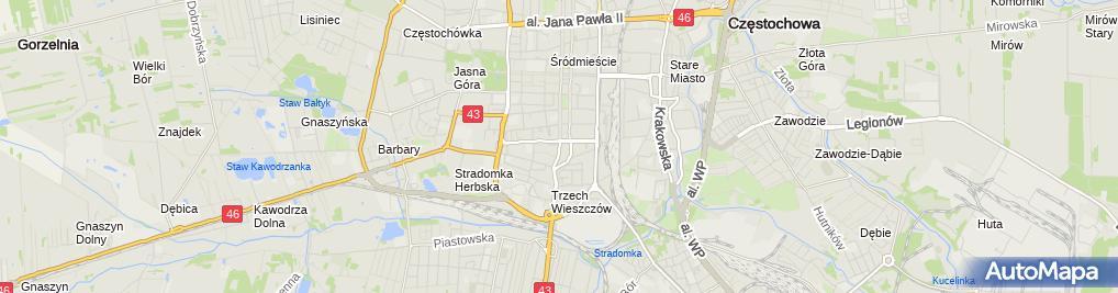 Zdjęcie satelitarne Agencja Usługowa Pit