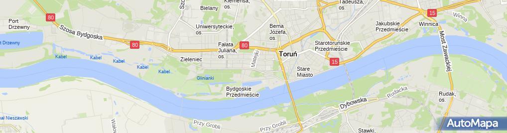 Zdjęcie satelitarne Agencja Usługowo Szkoleniowa Kem Antowska