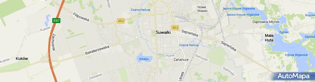 Zdjęcie satelitarne Agencja Wydawniczo Reklamowa Stankiewicz Ireneusz Stankiewicz