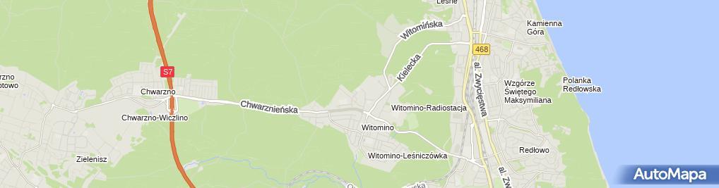 Zdjęcie satelitarne Agent Ubezpieczeniowy Bożena Piotrowska