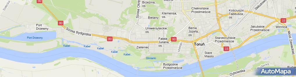 Zdjęcie satelitarne Agent Ubezpieczeniowy Gościniak Leszek