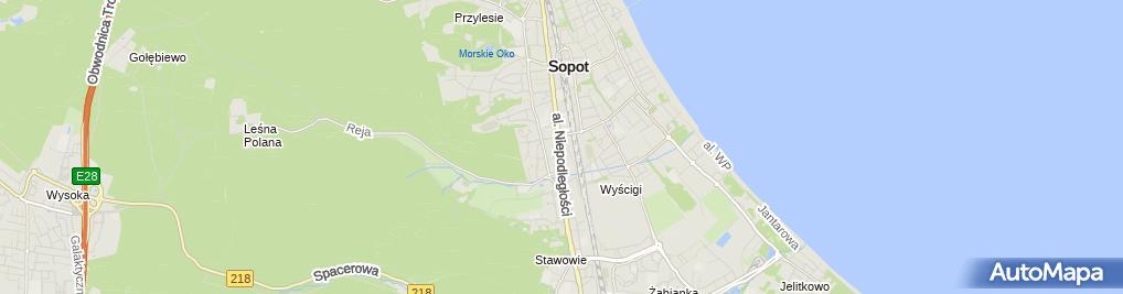 Zdjęcie satelitarne Agent Ubezpieczeniowy Grażyna Bodo