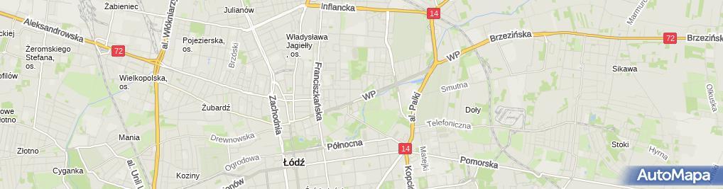 Zdjęcie satelitarne Agent Ubezpieczeniowy Jarosław Ziemnicki