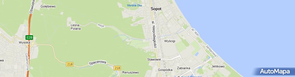 Zdjęcie satelitarne Agent Ubezpieczeniowy Katarzyna Grabowska