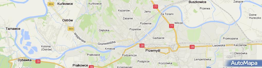 Zdjęcie satelitarne Agent Ubezpieczeniowy Paweł Jerski