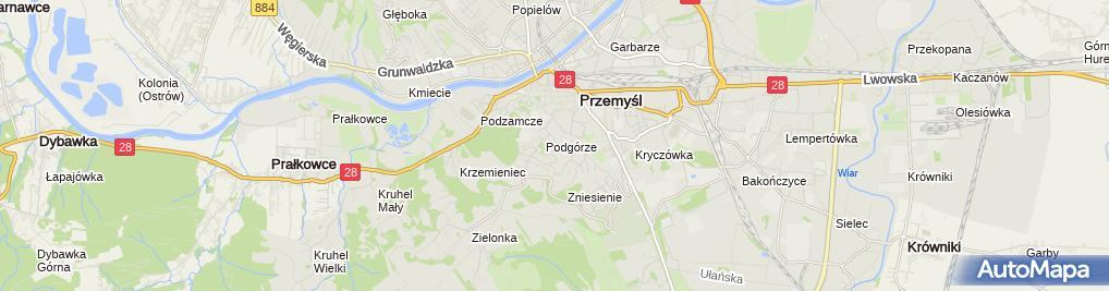 Zdjęcie satelitarne Agent Ubezpieczeniowy Zadorożny Marian