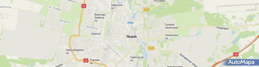 Zdjęcie satelitarne Agnieszka Bunkowska: Kancelaria Notarialna
