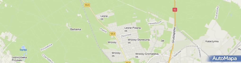 Zdjęcie satelitarne Agnieszka Głowińska-KrügerELEGANT, Fashion Line, Maxima