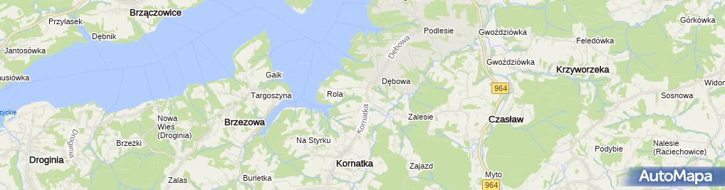 Zdjęcie satelitarne Agnieszka Łabędź Adl
