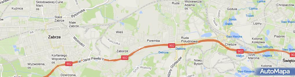 Zdjęcie satelitarne Agnieszka Mucha Agent Ubezpieczeniowy