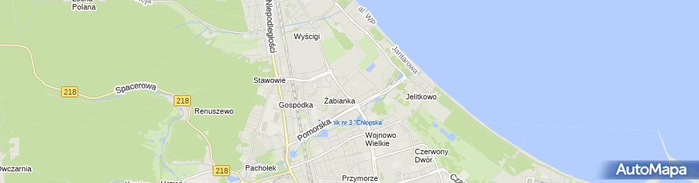 Zdjęcie satelitarne Ainido