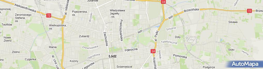Zdjęcie satelitarne Akademia Pielęgnacji Dłoni i Stóp