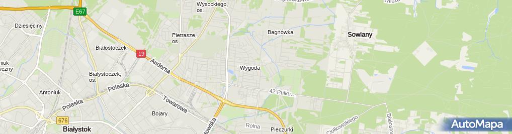 Zdjęcie satelitarne Alamo Mieczysław Olszewski