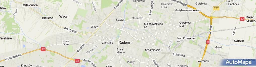 Zdjęcie satelitarne Alfa Plast Firma Handlowo Usługowa