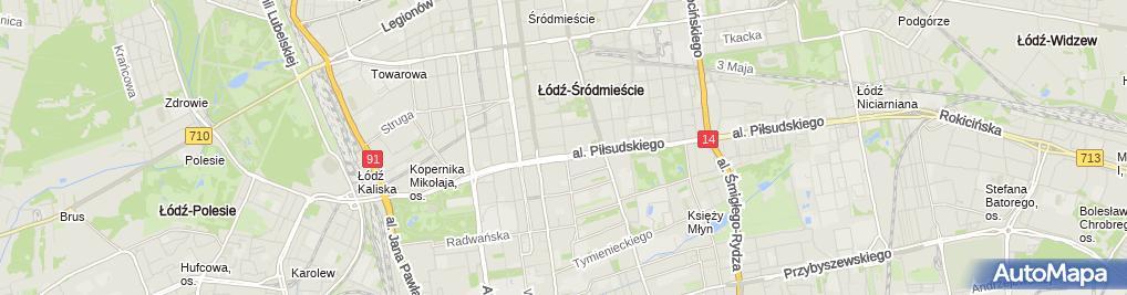 Zdjęcie satelitarne All Trans