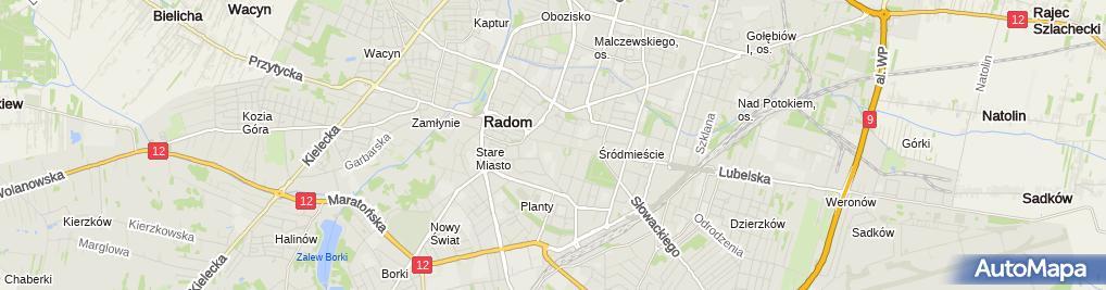 Zdjęcie satelitarne Alva Komfort L Kowalczyk A Tarasiewicz w Walkiewicz