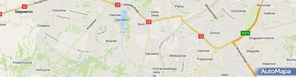 Zdjęcie satelitarne Amazis