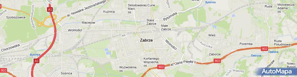 Zdjęcie satelitarne An Ew Med Sklep Medyczny Aneta Żabicka Ewa Olszewska