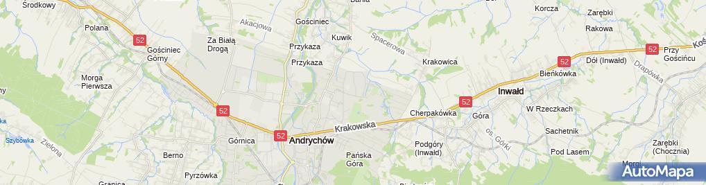 Zdjęcie satelitarne An-Ko Handel Obwoźny, Usługi Remontowo - Budowlane Anna Kopytko