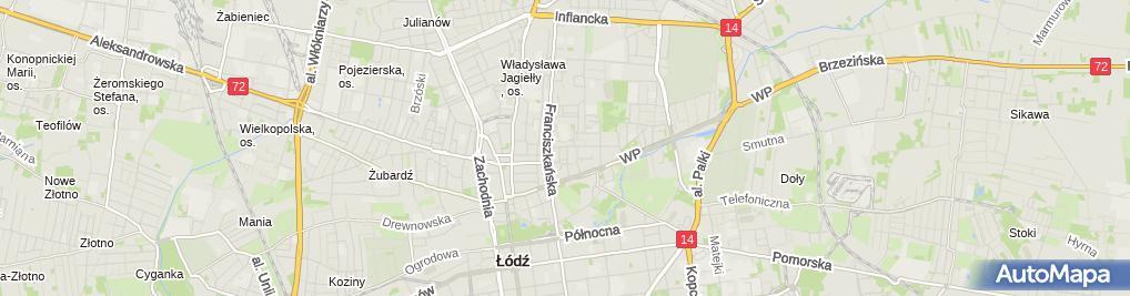 Zdjęcie satelitarne Anahata Ośrodek Szkoleniowy