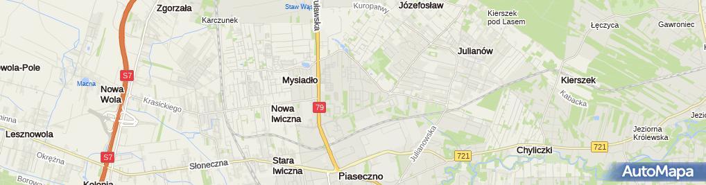 Zdjęcie satelitarne Andrzej Borzym - Działalność Gospodarcza
