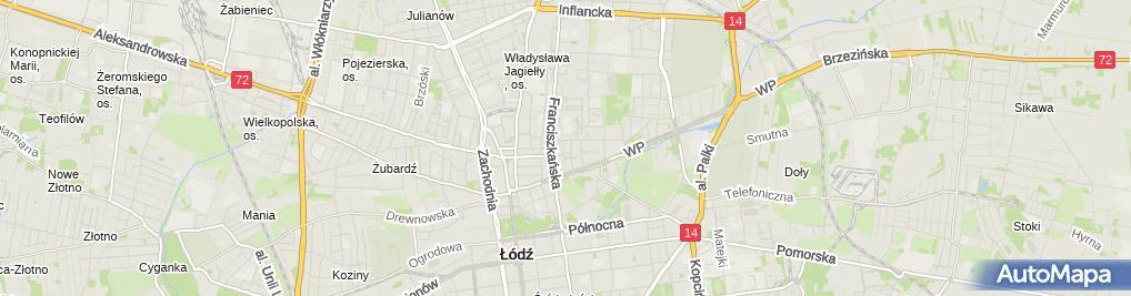 Zdjęcie satelitarne Andrzej Kacprzak - Działalność Gospodarcza