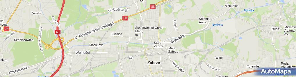 Zdjęcie satelitarne Andrzej Kareł Wspólnik Spółek Cywilnych: Feniks, Feniks Edukacja, Standard Biomass