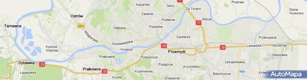 Zdjęcie satelitarne Andrzej Korbas Gabinet Protetyki Dentystycznej.Naprawa Protez Tech.Dent.Andrzej Korbas
