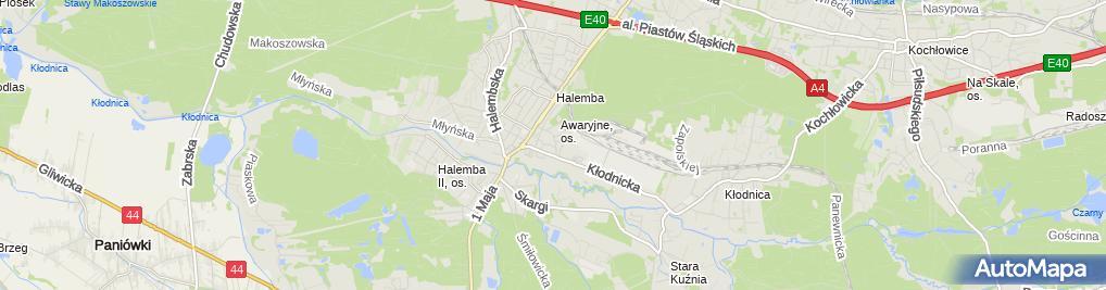 Zdjęcie satelitarne Andrzej Kwiecień - Działalność Gospodarcza