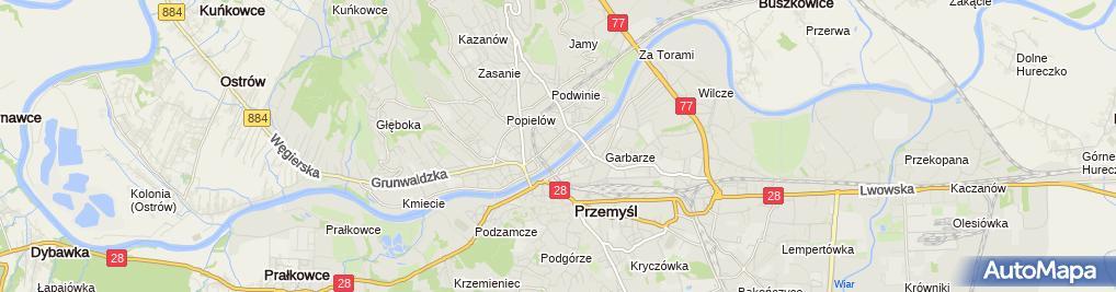Zdjęcie satelitarne Andrzej Pieniądz - Działalność Gospodarcza