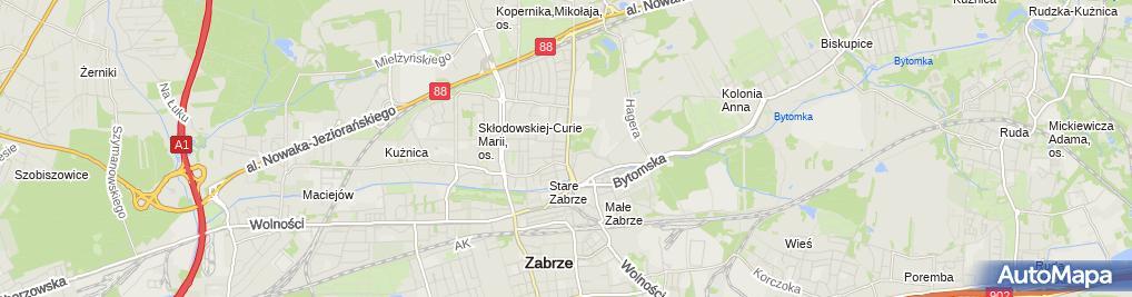 Zdjęcie satelitarne Andrzej Pietrzak - Działalność Gospodarcza