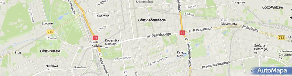 Zdjęcie satelitarne Andrzej Radke Financial Consulting