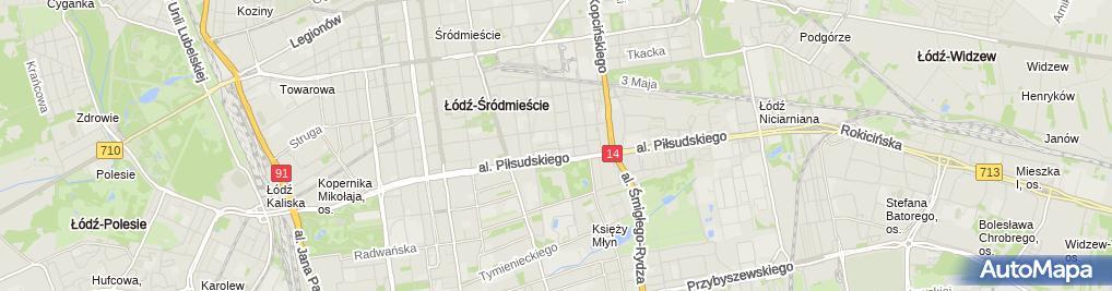 Zdjęcie satelitarne Andrzej Rżanek Artifex Andrzej Rżanek, Piotr Rżanek
