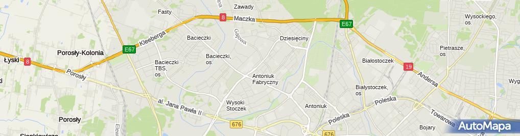 Zdjęcie satelitarne Andrzej Szmurło