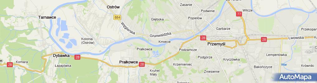 Zdjęcie satelitarne Andżelika Jakubowska Firma Handlowo-Usługowa