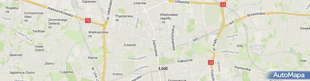 Zdjęcie satelitarne Anmar P H U Marek Bubiński Przemysław Bubiński