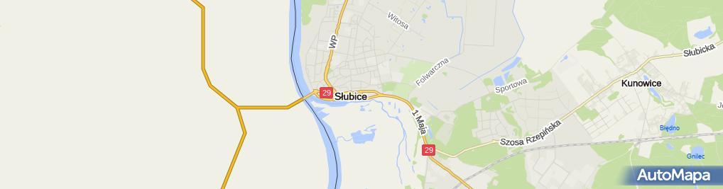 Zdjęcie satelitarne Anna Przystałowska - Działalność Gospodarcza