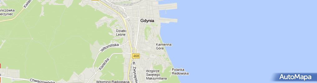 Zdjęcie satelitarne Anna Stajewska - Działalność Gospodarcza