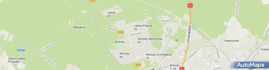 Zdjęcie satelitarne Anna Zalewska JPM Media