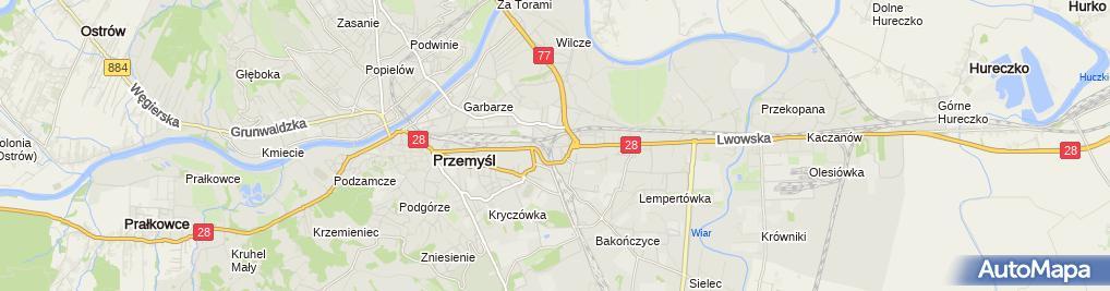 Zdjęcie satelitarne Anna Żero Auto-Moto