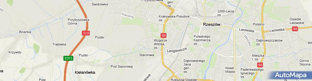 Zdjęcie satelitarne Antresola Studio Michał Ampel