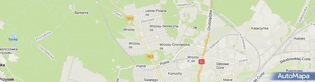 Zdjęcie satelitarne Apg Półosie Przeguby Napędowe