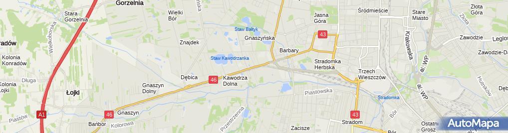 Zdjęcie satelitarne Ara Firma Handlowo Usługowa