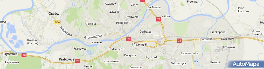 Zdjęcie satelitarne Art Spożywczo Mięsne Hurt Detal M&R Zastrowski