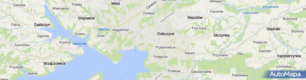 Zdjęcie satelitarne Artmar Artur Skowroński, Marek Jamróz