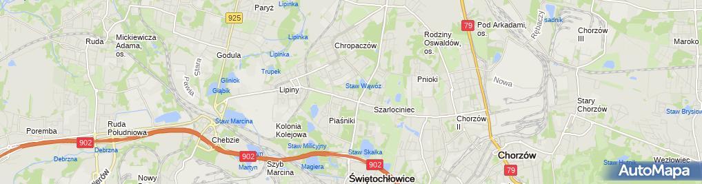 Zdjęcie satelitarne Artur Pawłowski - Działalność Gospodarcza