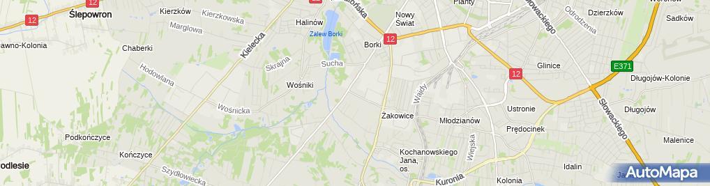 Zdjęcie satelitarne As - Pak Anna Gawrońska
